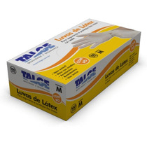 Luva De Procedimento Em Látex Talge (caixa C/100) P