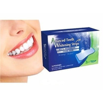 Clareador Dental Kit Fitas Branqueadora Whitestrips Dente