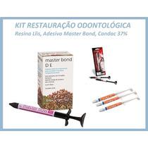 Kit Resutauração Odontológica - Resina, Condac 37%, Adesivo