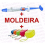 Clareador P/ Dentes Sensiveis Whiteness Perfect 16%+moldeira
