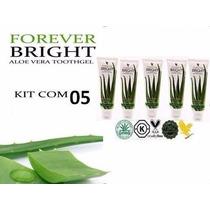 Kit Com 05 Creme Dental Forever Bright Pasta De Dente