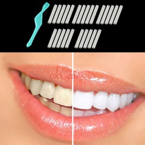 Clareamento Branqueamento Dentes Dental + Borracha 25 Pcs