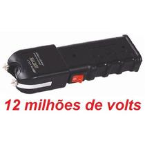 Máquina Aparelho De Choque Defesa Pessoal Taser 12.000kv