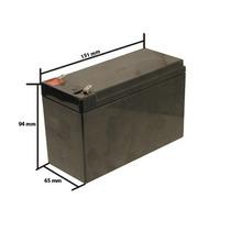 Bateria Selada 12v 7a Para Alarme Cerca Elétrica No Break