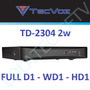 Dvr Tecvoz 4 Canais Td-2304 Light 2w Stand Alone Full D1 Hd1