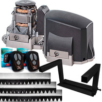 Kit Motor Portão Deslizante Garen 1/3 Speed + Suporte Aereo