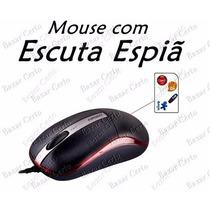 Micro Escuta Espiã - Mouse - Escute Por Horas - Original!!