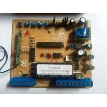 Placa Central Eletrônica De Automatizador + 02 Controles