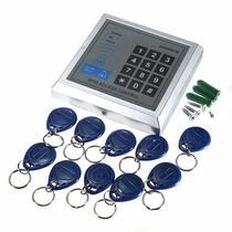 Controle De Acesso Rfid 125khz + 10 Tags -cartão, Tag, Senha