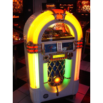 Jukebox Wurliter 1015 Omt Pilastras Laterais