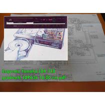 Esquema Yamaha Cdx-1cd Cdx1cd Gradiente Ldp636 10,00 Em Pdf