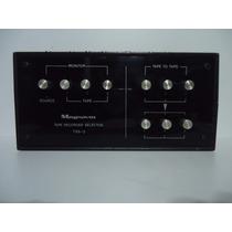Tape Record Selector Magnavoz Trs-3 - By Trekus Vintage