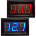 Voltímetro Digital Automotivo 4,5 A 30v Bateria Som Carro