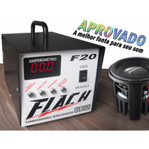 Carregador De Baterias 20 Amperes Automático