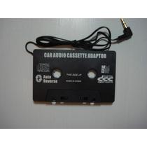 Cassete Adaptador Para Toca Fitas De Carro / Aparelho Som