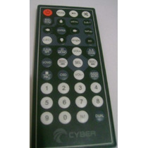 Controle Remoto Dvd Cyber 7 Retratil Cybd-510 - Original