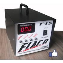 Flach Carregador Bateria Carro Moto Som Câmeras F15