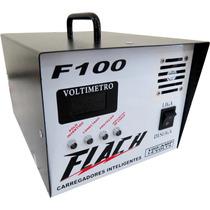 Carregador Inteligente De Bateria Flach F100 O Top Do Brasil