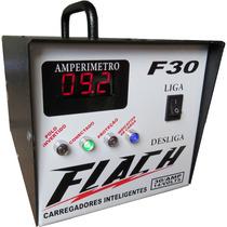 Carregador Bateria 30 Amperes Carro Som Moto Barco Pesca Jet