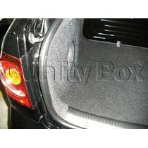 Caixa De Fibra Lateral Reforçada Polo Sedan Novo (2002-2013)
