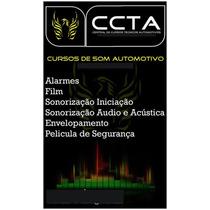 Curso Instalação Aplicação De Pelicula Proteção Solar(film)