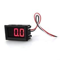 Voltímetro Digital Automotivo Com Remote 0~100v Bateria Som