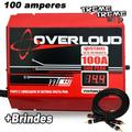 Fonte Overloud 100 Amper 12 14 Volts C/ Voltimetro + Brindes