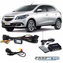 Desbloqueio Mylink Chevrolet Onix + Câmera Ré + Tv Digital