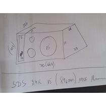 Caixa De Som P/ Alto Falante Eros Sds 2.4k De 15 Mdf 18mm