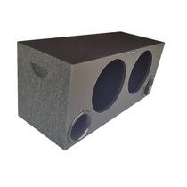 Caixa Super Bass 2 X 12 Universal 100 Litros Mdf18 Mm Dutada