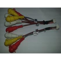 Chicote Rca Para Retratil Lenoxx Modelos Ad1845/1800/1860