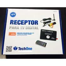 Kit Receptor Antena Tv Digital Automotivo P Dvd + Câmera Ré
