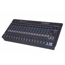 Mesa Som Mixer Starmix Ll Sa1602d 16 Canais Efeito Estéreo