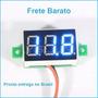 Mini Voltímetro Digital 0v~30v P/ Carro Bateria Frete Barato