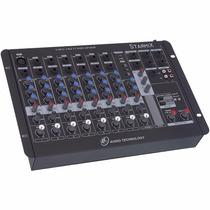 Mesa Som Mixer Starmix Ll Audio Usfx802 8 Ch Usb + Efeito