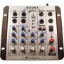 Mesa Som Automotivo Mixer Automix Ll Audio A502r 4ch 12v Usb
