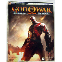 Revista Bradygames Detonado God Of War: Ghost Of Sparta -psp