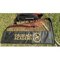 Conjunto Beach Tennis Personalizado Com 8 Logos (rede+fita)