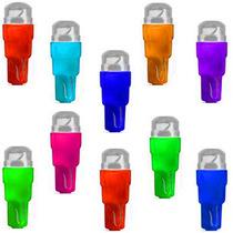 10 Led Lamp Neon Especial P/ Painel T5 Pinguinho Carro Moto.