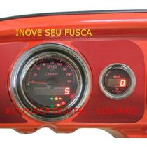 Kit Painel Digital Moderno Para Fusca, Brasilia, Buggy,bugre