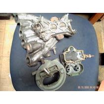 Carburador Bijet (v8) P/ Motor Vw Ap Aspirado+flange+coletor