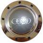 Calota Para Centro De Roda Esportiva Audi Rs4 - Cromada