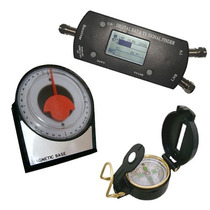 Satelite Finder Digital + Bussola + Inclinometro 1026