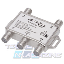 Chave Diseqc 4x1 Chip Sce P/ 4 Antenas Diseqc 2.0 Tone Burst