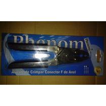 Alicate De Crimpar Conector F De Anel - Phenom Ph-102a