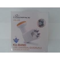 Lnb Banda Ku Universal Quadruplo Full Hd 1080p Prova D Agua