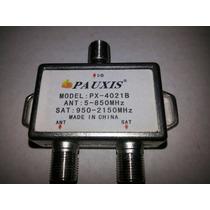 Chave Diplex Pauxis (chave Para Usar Uhf E Satelite)