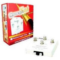 Chave Coaxial Dupla Omegasat P Antena Parabólica