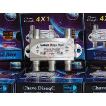 Chave Diseqc 4 X 1 - Resistente A Água - Gecen (4x1)