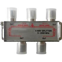 Divisor 1x4 P/ Lnbf Multiponto Alta Frequência 5-2450 Mhz